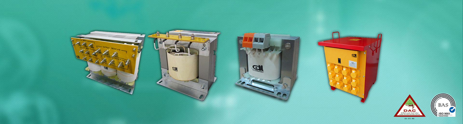 Al Budoor Transformers, UAE -manufacturer, distributor, dry